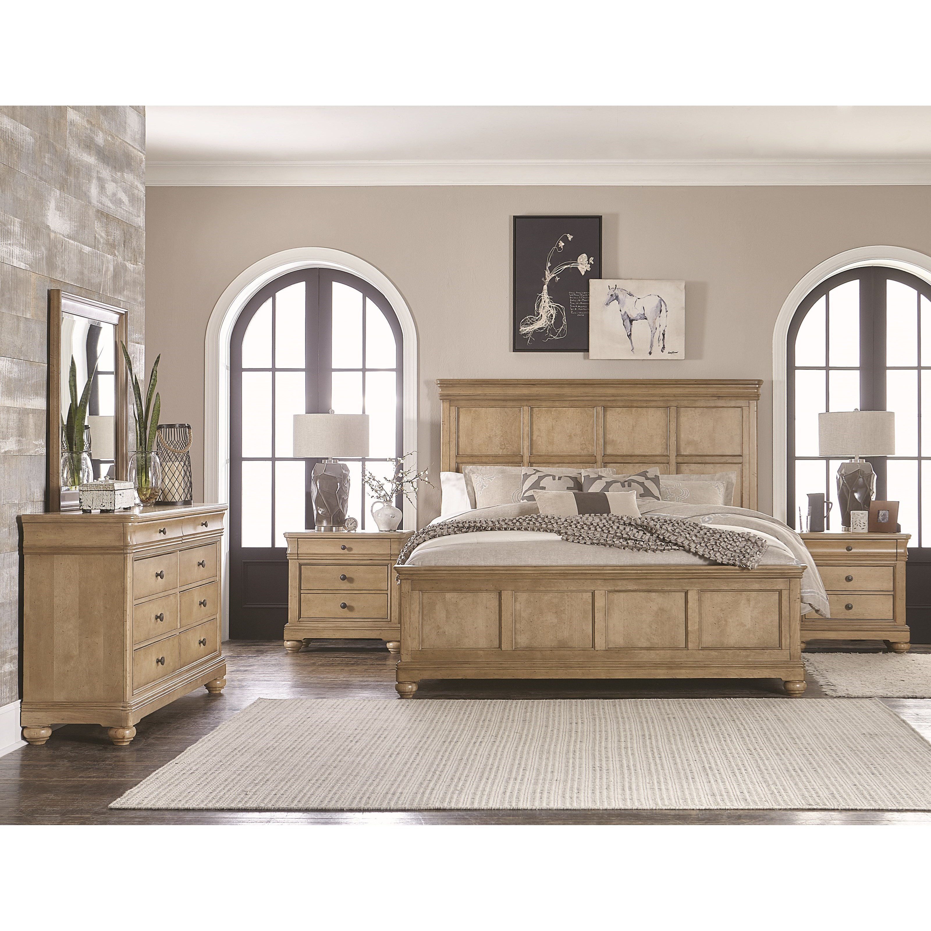 Legacy Classic Ashby Woods King Bedroom Group - Item Number: 7060 K Bedroom Group