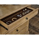 Legacy Classic Ashby Woods 8 Drawer Dresser with Felt Lined Top Drawers