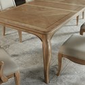 Legacy Classic Ashby Woods Wood Rectangular Leg Table with 2 Leaves