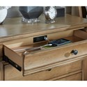 Legacy Classic Ashby Woods 3 Drawer Bedside Chest with Outlet and USB