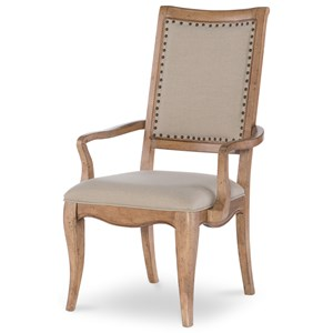 Legacy Classic Ashby Woods Upholstered Back Arm Chair