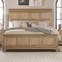 Legacy Classic Ashby Woods King Wood Panel Bed With Crown Molding