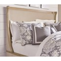 Legacy Classic Ashby Woods Queen Upholstered Bed With Winged Headboard