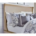 Legacy Classic Ashby Woods King Upholstered Bed with Winged Headboard