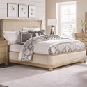 Legacy Classic Ashby Woods California King Upholstered Bed with Winged Headboard