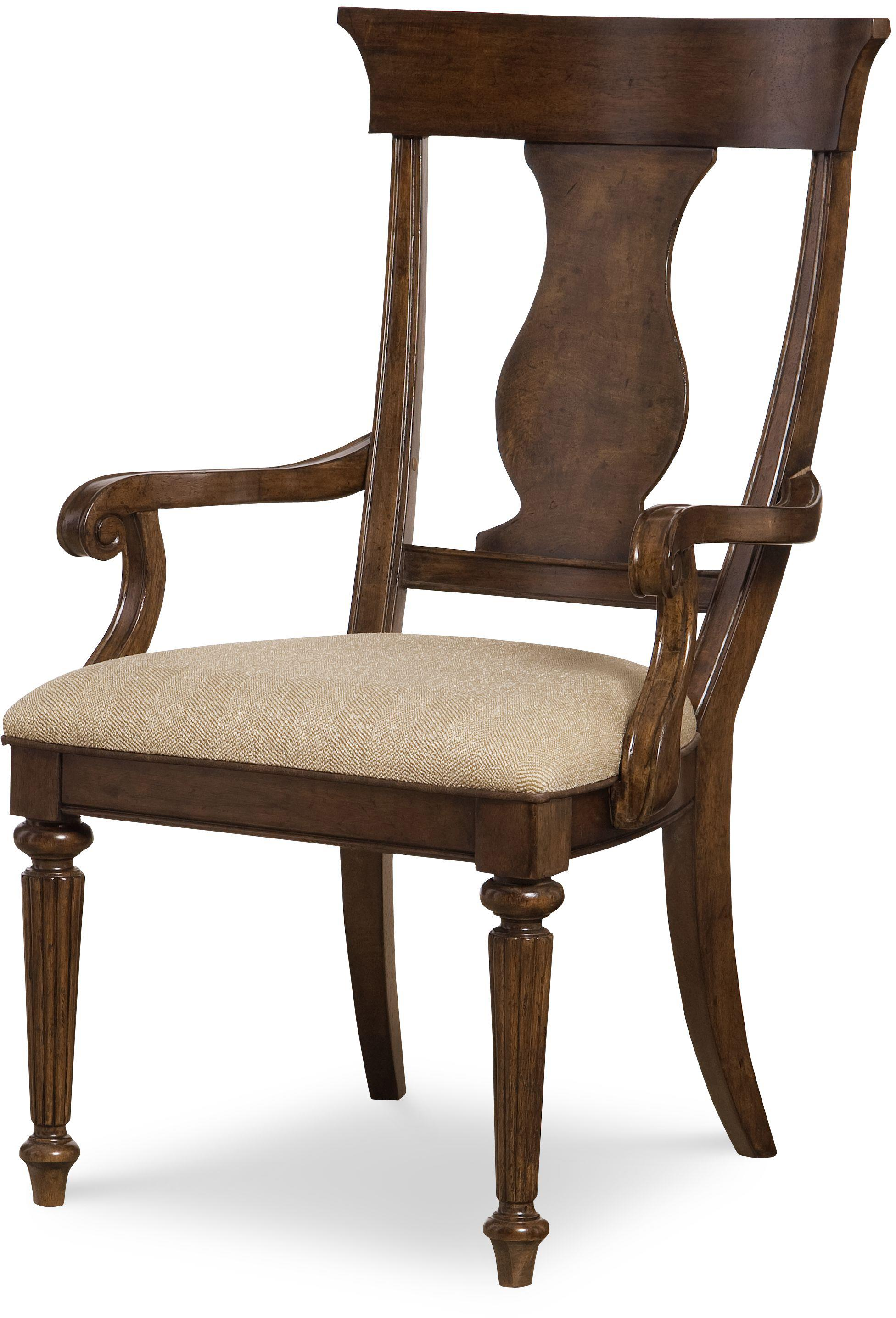 Legacy Classic Barrington Farm Splat Back Arm Chair  - Item Number: 5200-141 KD