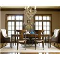 Legacy Classic Barrington Farm 7 Piece Dining Set - Item Number: 5200-222+2x451+4x140 KD