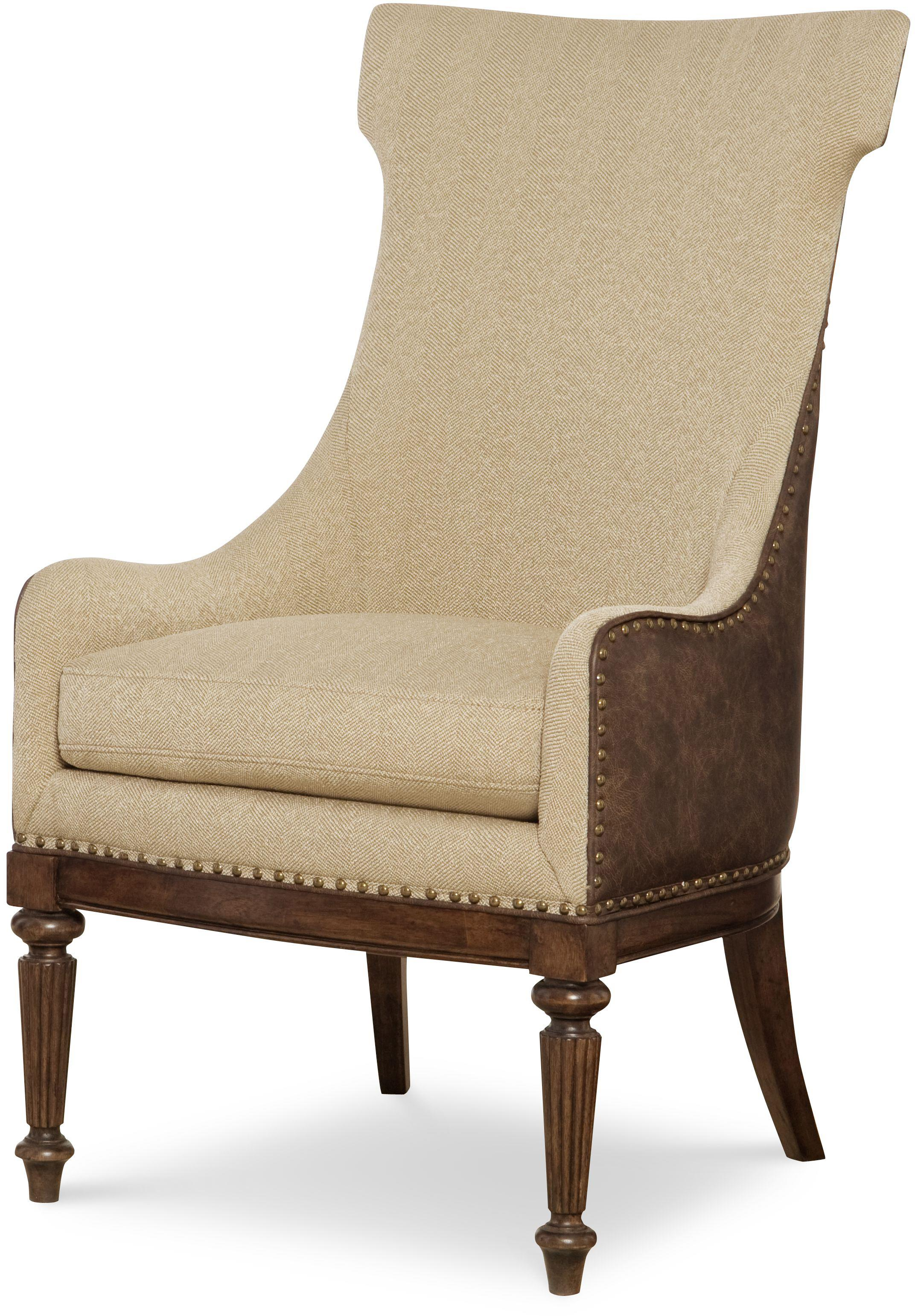 Legacy Classic Barrington Farm Upholstered Host Chair  - Item Number: 5200-451 KD