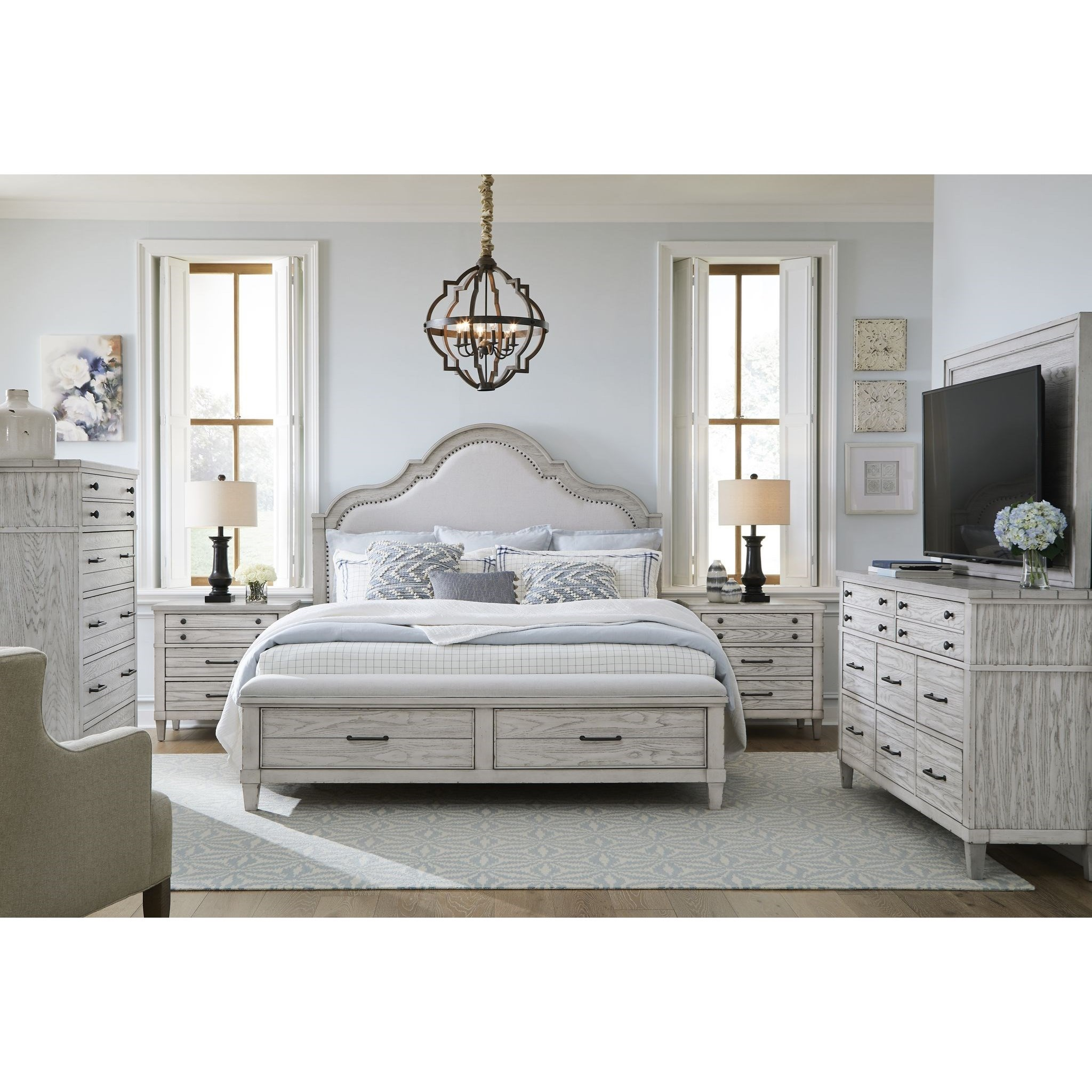 Belhaven King Bedroom Group by Legacy Classic at EFO Furniture Outlet