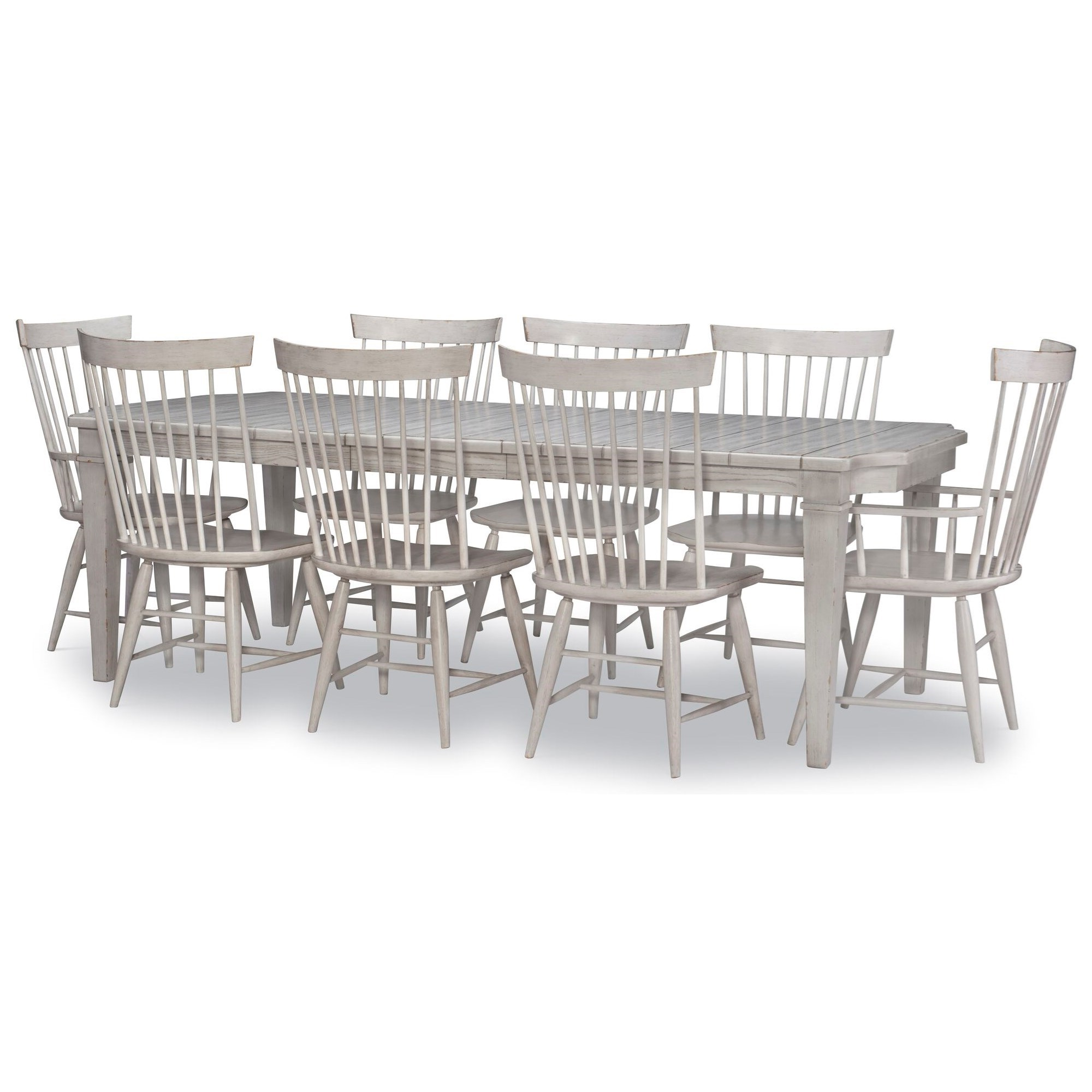 Belhaven 9-Piece Table and Chair Set by Legacy Classic at Stoney Creek Furniture