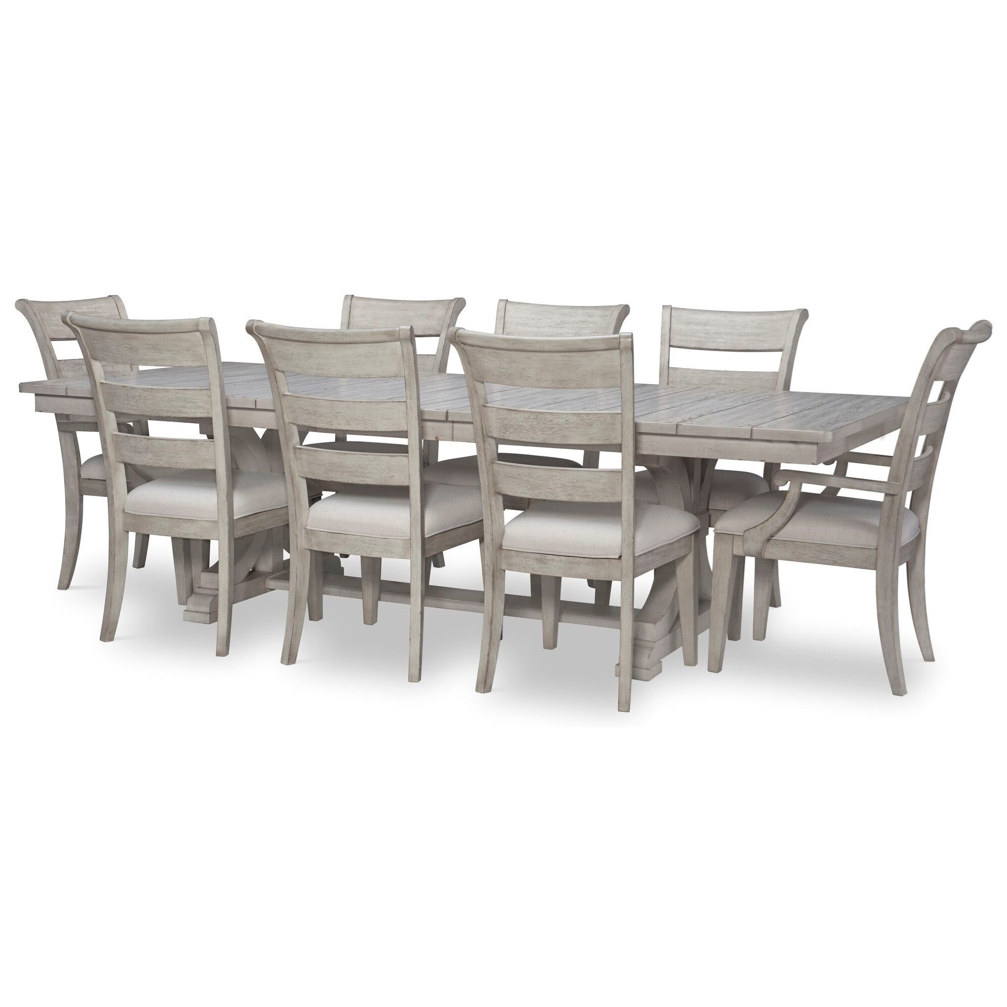 Belhaven 9-Piece Table and Chair Set by Legacy Classic at EFO Furniture Outlet