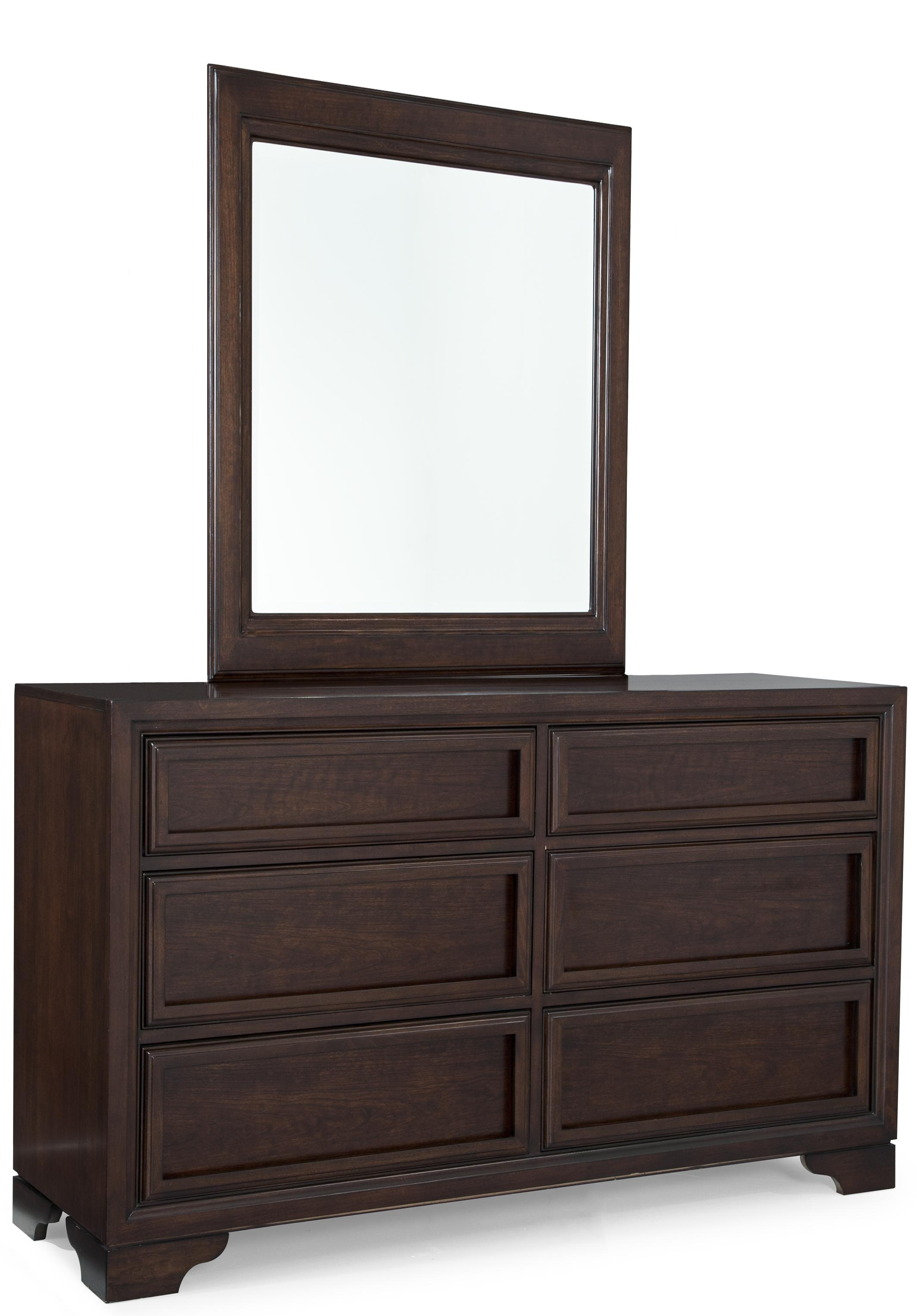 Legacy Classic Kids Benchmark Dresser and Mirror Set - Item Number: 2970-1100+0100