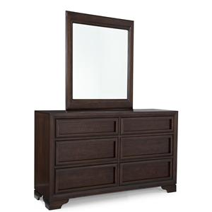 Legacy Classic Kids Benchmark Dresser and Mirror Set