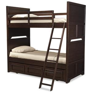 Legacy Classic Kids Benchmark Twin over Twin Bunk Bed with Trundle Unit