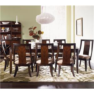 Legacy Classic Boulevard Formal Dining Table and Chair Set