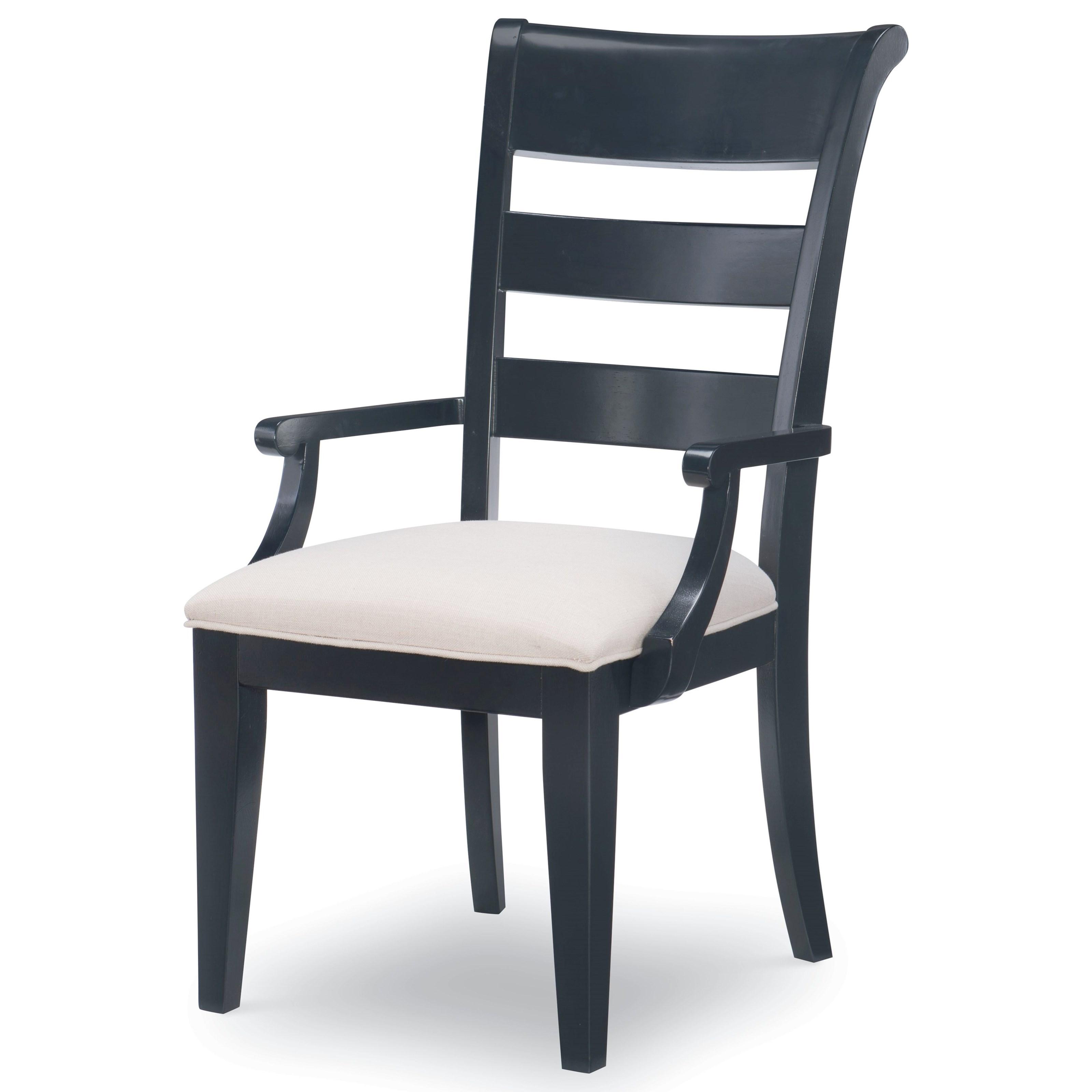 Ladder Back Arm Chair
