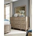 Legacy Classic Bridgewater 9 Drawer Dresser with Landscape Mirror