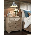 Legacy Classic Bridgewater 3 Drawer Night Stand w/ Outlet and USB Port