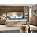 Legacy Classic Bridgewater Queen Panel Bed with Storage Footboard