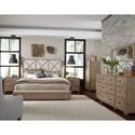 Legacy Classic Bridgewater California King Upholstered Bed