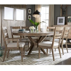 Legacy Classic Bridgewater 7 Piece Round Table Set
