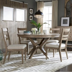 Legacy Classic Bridgewater 5 Piece Round Table Set