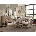 Legacy Classic Bridgewater Trestle Table with Removable Leaves