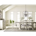 Legacy Classic Brookhaven Formal Dining Room Group - Item Number: 6400 Dining Room Group 3