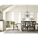 Legacy Classic Brookhaven Formal Dining Room Group - Item Number: 6400 Dining Room Group 4