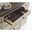 Legacy Classic Brookhaven Buffet with Silverware Insert