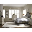 Legacy Classic Brookhaven King Panel Bed with Molded Headboard