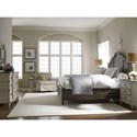 Legacy Classic Brookhaven King Panel Bed with 2 Storage Drawers
