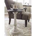 Legacy Classic Brookhaven Pedestal Chairside Table