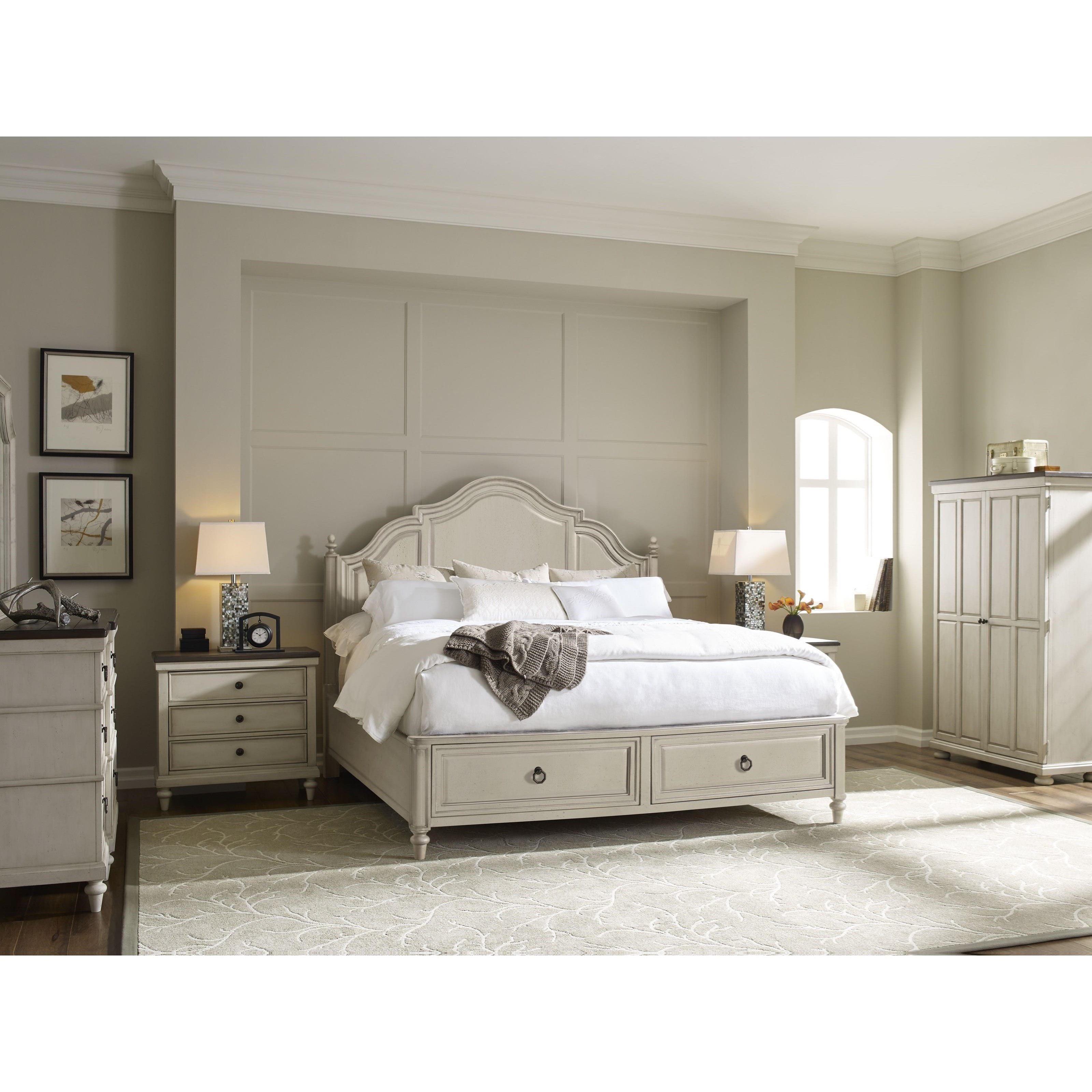 legacy classic brookhaven queen panel bed with 2 storage 12075 | products 2flegacy classic 2fcolor 2fbrookhaven 892579080 6401 4125k b2
