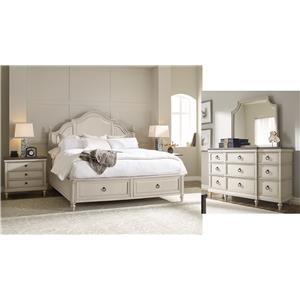 5 Piece Queen Storage Bedroom
