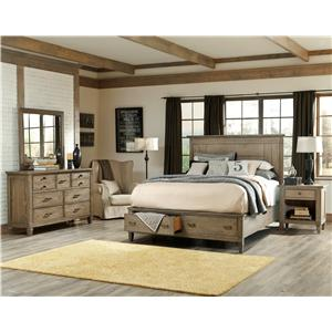 Legacy Classic Brownstone Village Queen Bedroom Group