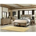 Legacy Classic Brownstone Village Queen Bedroom Group - Item Number: 2760 Q Bedroom Group 2