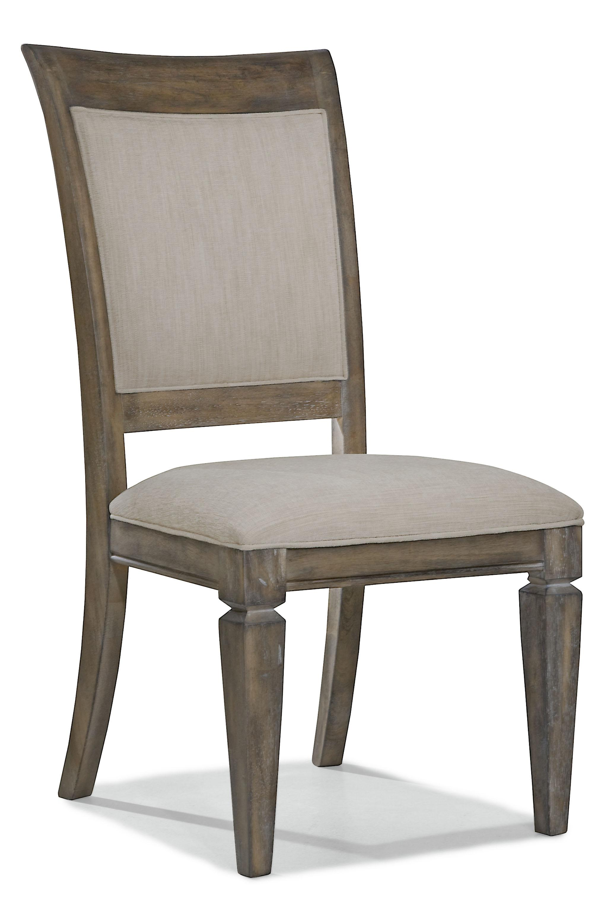 Legacy Classic Brownstone Village Upholstered Back Side Chair - Item Number: 2760-140 KD