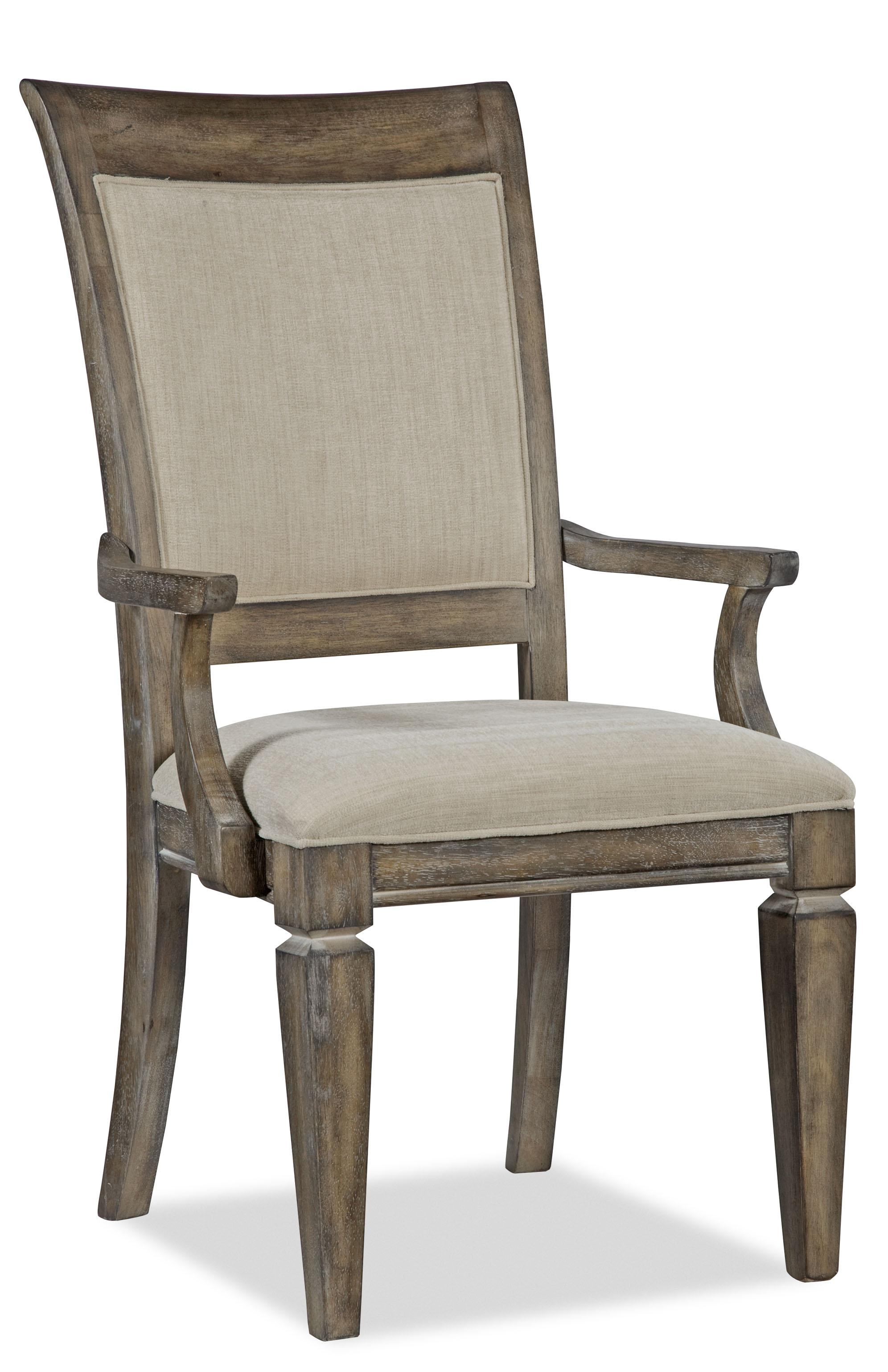 Legacy Classic Brownstone Village Upholstered Back Arm Chair - Item Number: 2760-141 KD