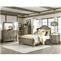 Legacy Classic Brownstone Village 5 Drawer Chest with Cedar Lined Bottom Drawer - 2760-2200