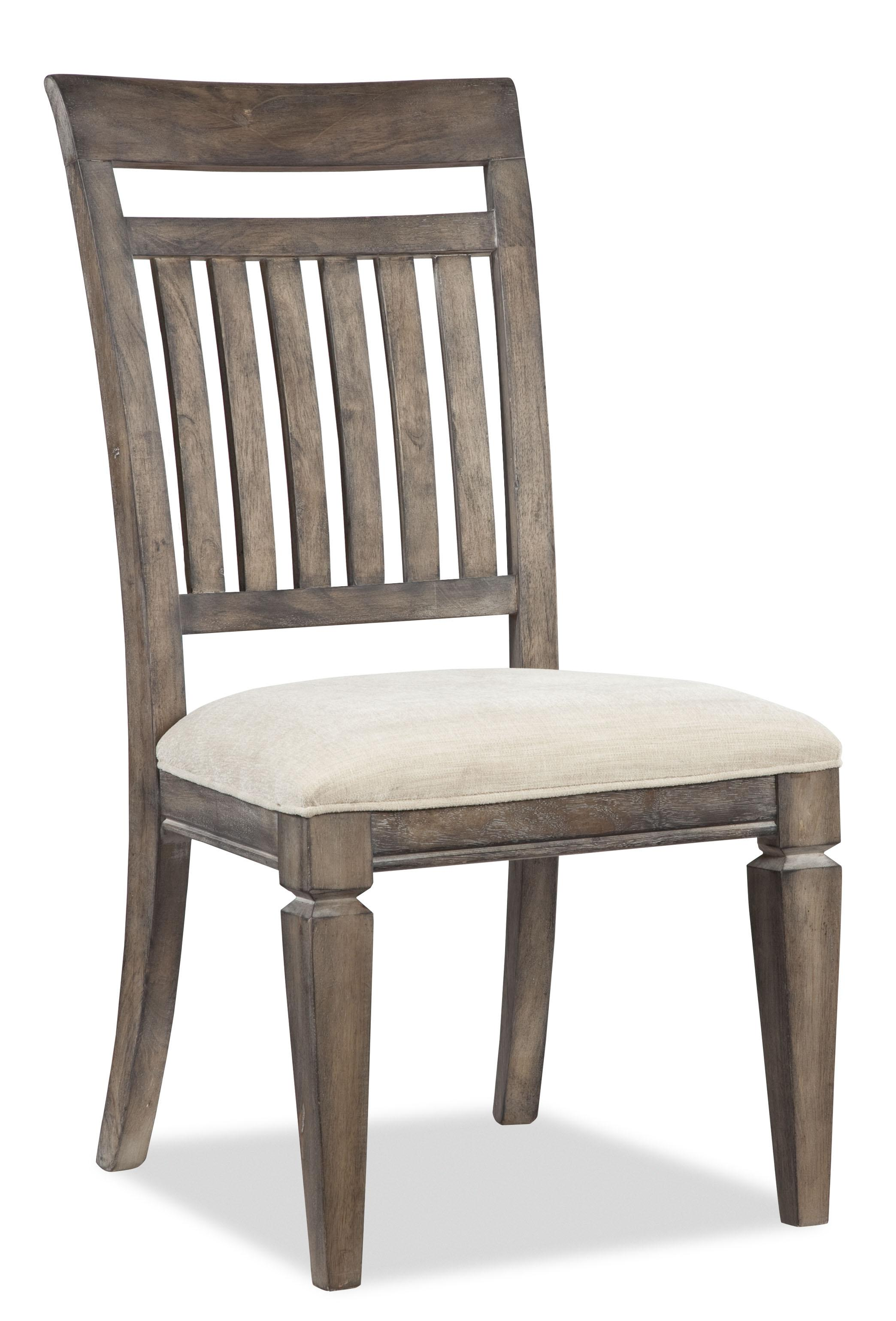 Legacy Classic Brownstone Village Slat Back Side Chair - Item Number: 2760-340 KD