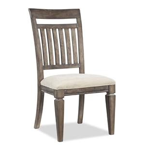 Legacy Classic Brownstone Village Slat Back Side Chair