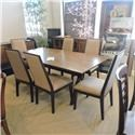 Legacy Classic Clearance Trestle Table w/ 6 chairs - Item Number: 360074798