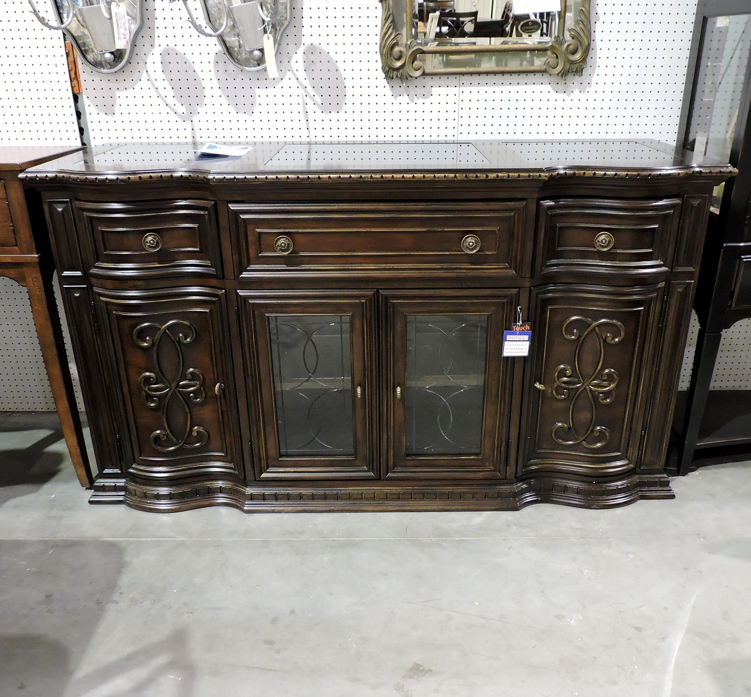 Legacy Classic     Marble Inlay Credenza - Item Number: 420015166