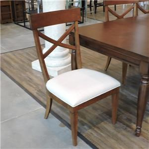 Set of 6 X-Back Side Chairs