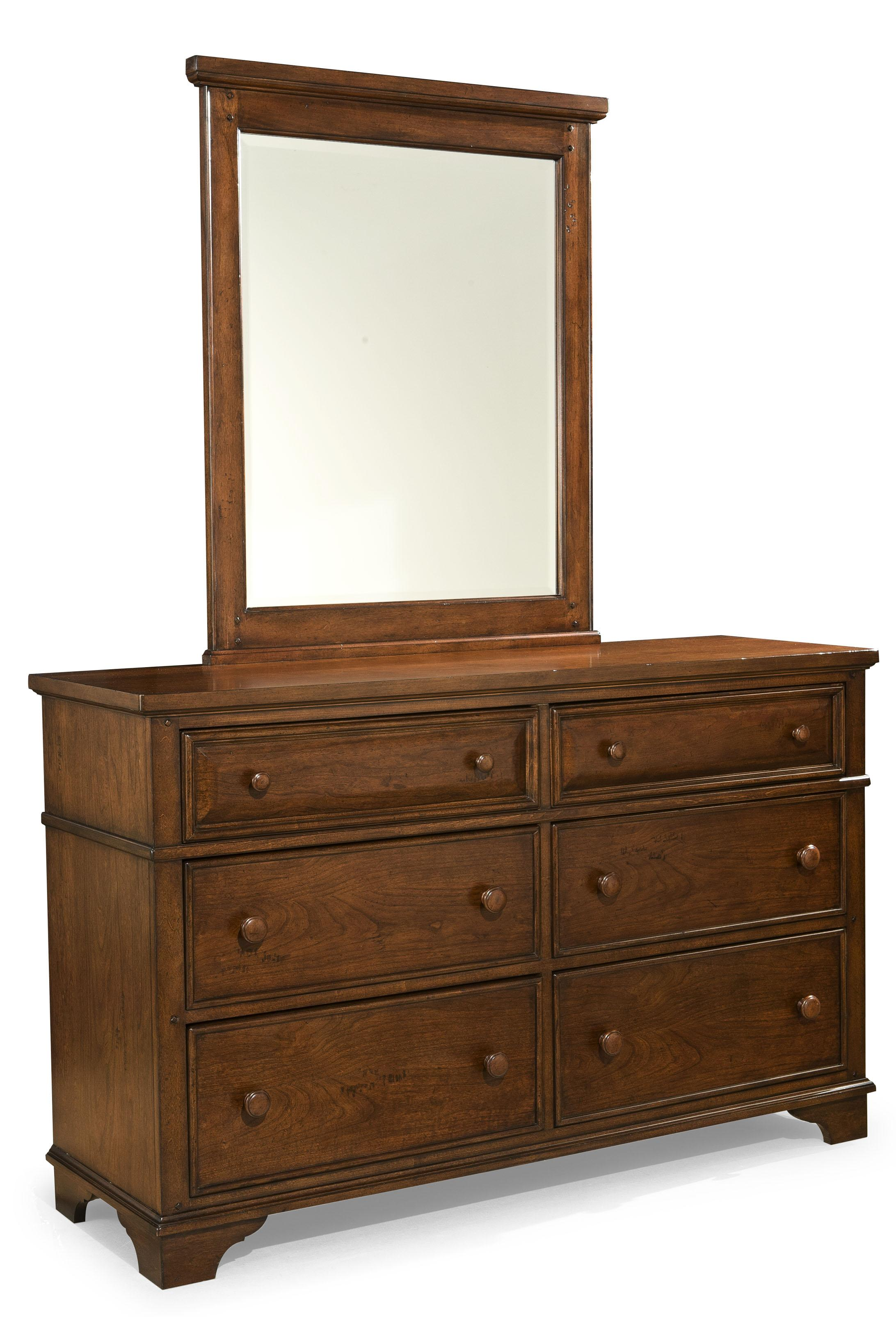 Legacy Classic Kids Dawsons Ridge Dresser and Mirror - Item Number: 2960-1100+0100