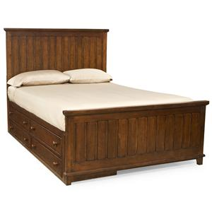 Legacy Classic Kids Dawson's Ridge Full Panel Bed with Underbed Storage Unit
