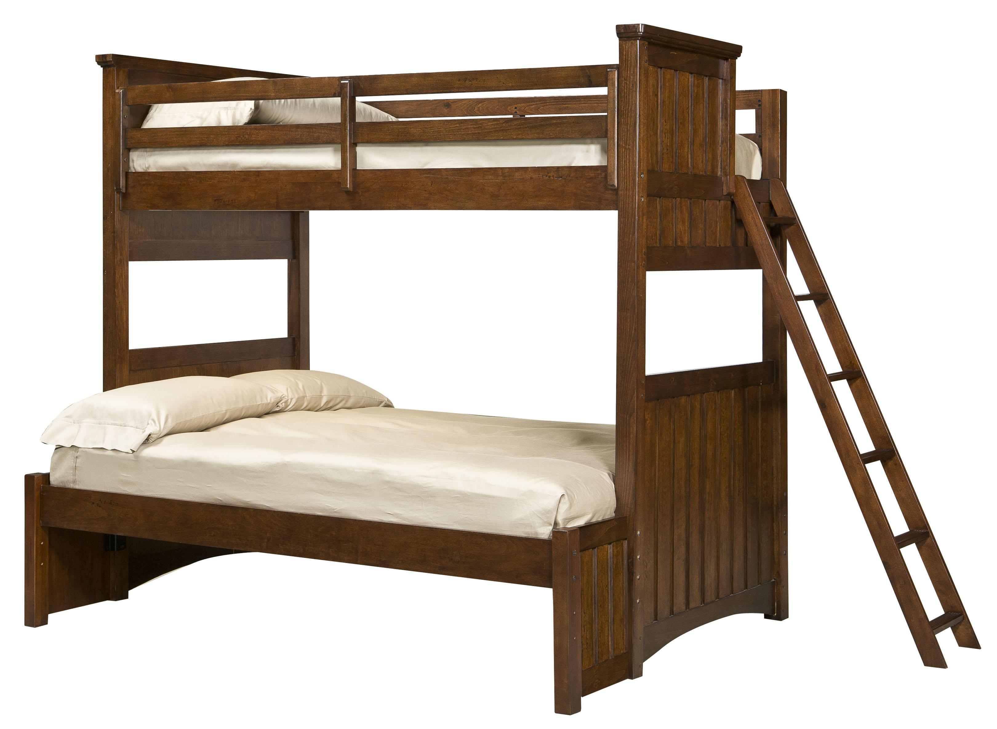 Legacy Classic Kids Dawson's Ridge Twin-over-Full Bunk w/ Ladder - Item Number: 2960-510+320+310+140+888-4923C+24C
