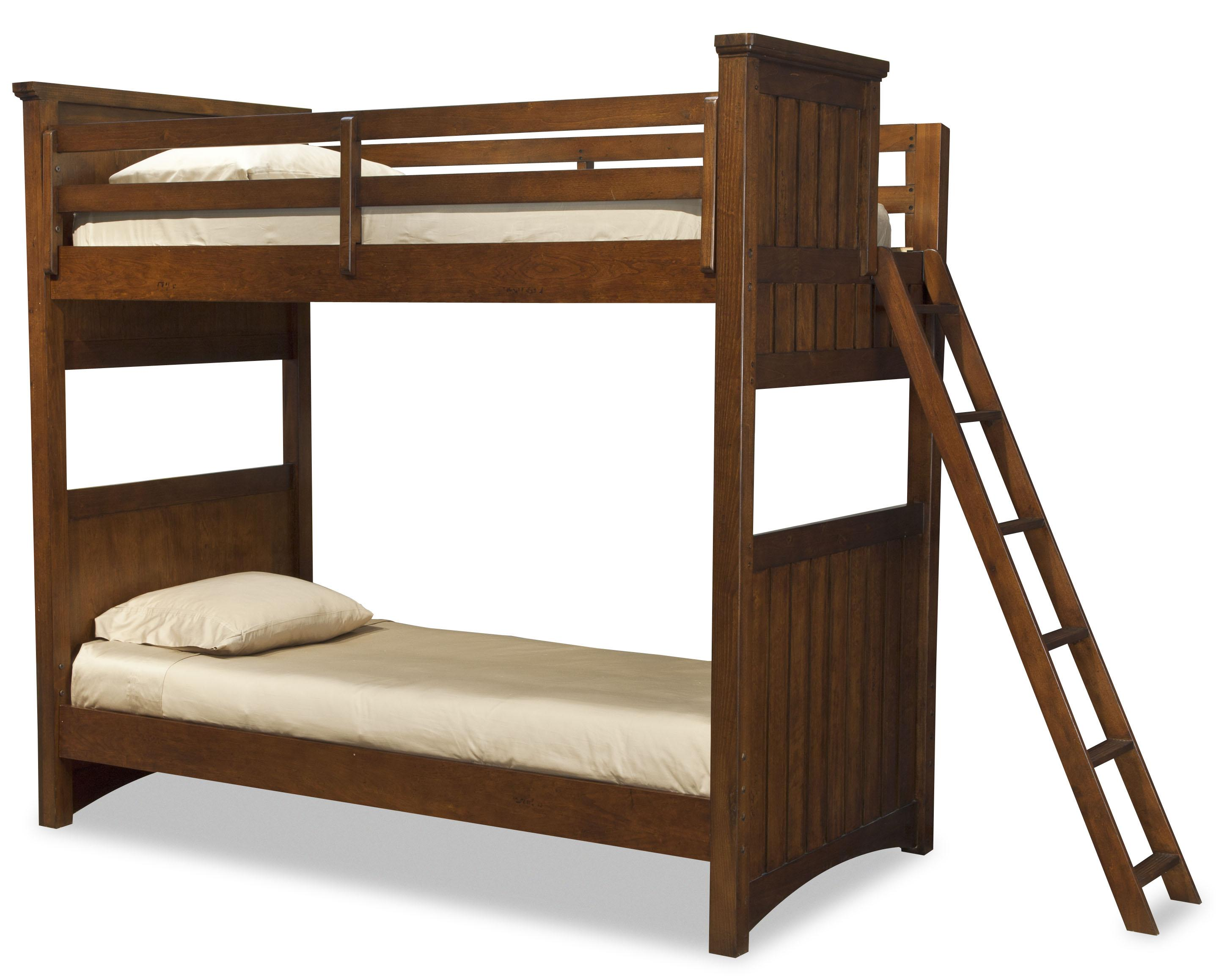 Legacy Classic Kids Dawson's Ridge Twin-over-Twin Bunk w/ Ladder - Item Number: 2960-8510+8320+8310+2x888-4923C