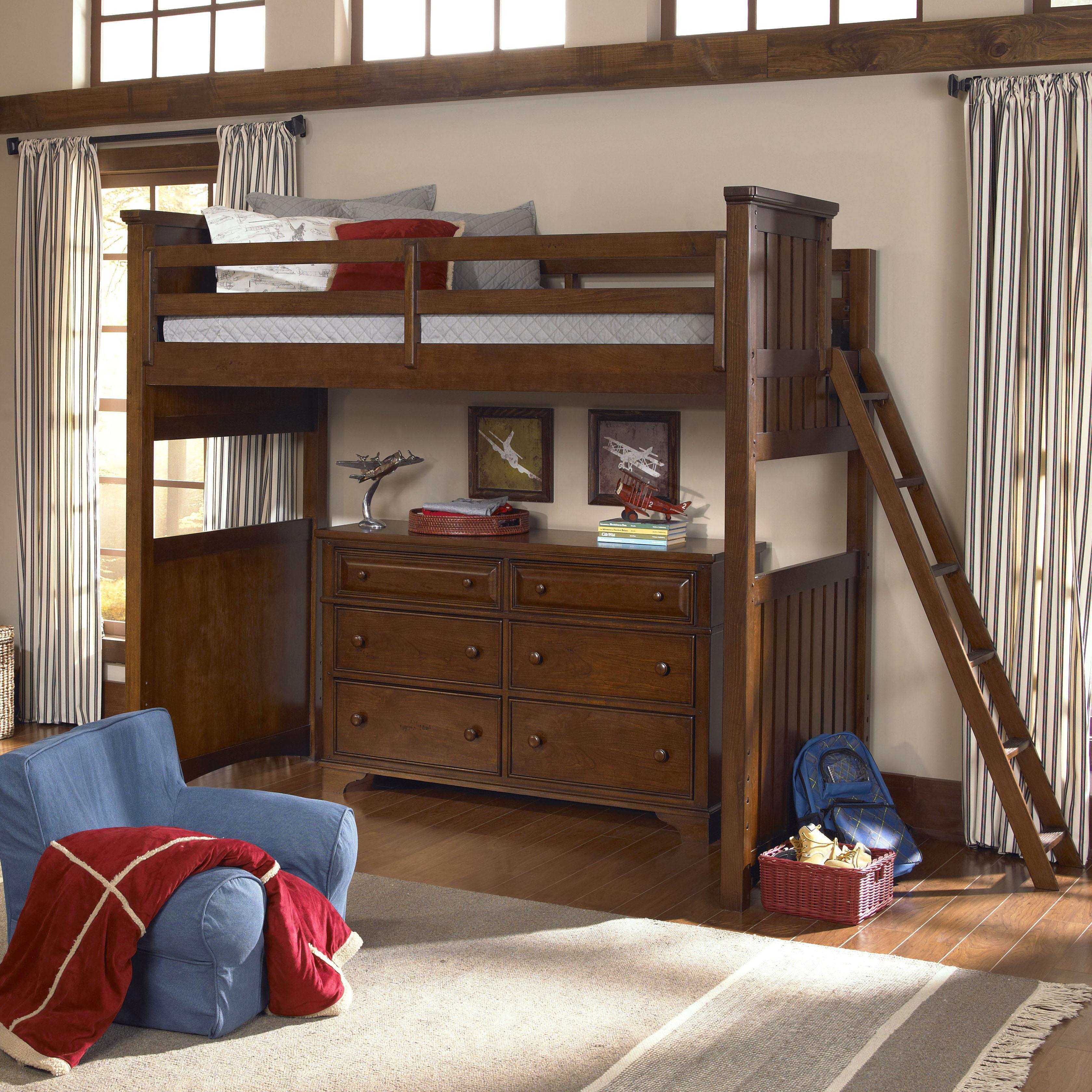 Legacy Classic Kids Dawsons Ridge Complete Twin Loft w/ Ladder - Item Number: 2960-8510K